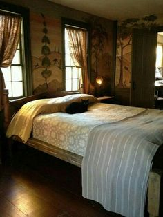 Child Room Decoration Models - Home Fashion Trend Decor, Cozy Bedroom, Beautiful Bedrooms, Home, Country Decor, Primitive Homes, Colonial Bedroom, Primitive Decorating Country, Country Bedroom