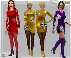Clothing: Fun dress from Dreaming 4 Sims Female Clothing, Sims 4 Clothing, Best Sims, Sims4 Clothes, Sims 4 Custom Content, Nice Dresses, Wonder Woman, Superhero, Clothes For Women