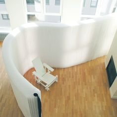 softwall1 by AlexanderK, via Flickr Can be shaped, folded flat, white ones let light thru