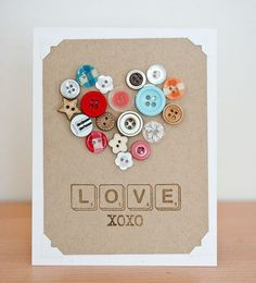Cool button card from Jillibean Soup.