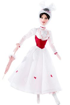 2007 Mary Poppins | Barbie Collector, Designed by: Sharon Zuckerman Release Date: 12/1/2007 Product Code: M0672, $29,95 Orginal Price