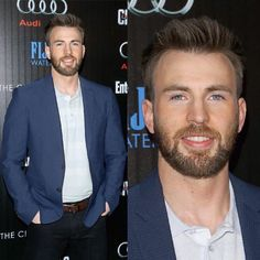 Chris Evans — Stunning!  #NYCPremiere   #ChrisEvans #Chris...