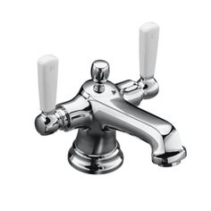 KOHLER�Bancroft Polished Chrome 2-Handle Single Hole WaterSense Bathroom Sink Faucet (Drain Included)