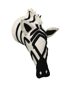 Mounted Zebra - Baby Toys   Serena and Lily