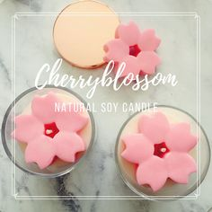 Cherry blossom Soy Candle /Mother's day / Wedding gift /