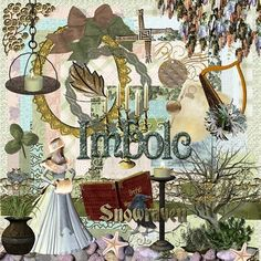 The holiday of Imbolc/Imbolg/Oimlec  is our Ancient Northern European  Shamanic Pagan version of the holiday;  and has been adopted by us  Neo-Pagan and Witchy & Wiccan types  as one of our 8 Sabbats on The Wheel Of The Year.  Astronomically it is the cross-quarter  day between the  Yule/the Winter Solstice and Ostara or Eostre/the Spring Equinox.