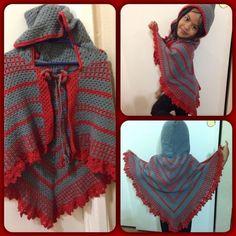 emireles #crochet poncho/ shawl - 70+ Inspiring Crochet Photos