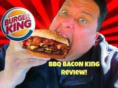 Burger Kings BBQ BACON KINGTM SANDWICH Review