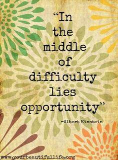 Positivity Quote via www.yourbeautifullife.org