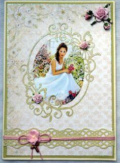 konfirmationskort pige