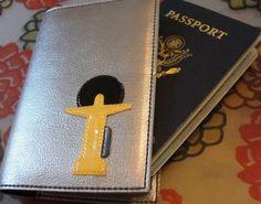Gilson Martins Passport Holder featuring Cristo Redentor statue in Rio