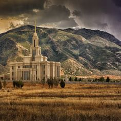 Payson Temple by Alex Chamberlain