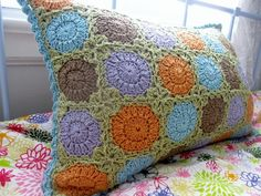 Circle in Square Pillow