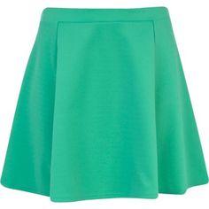 Green skater skirt - skater skirts - skirts - women