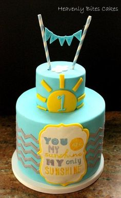 Sunshine Themed First Birthday | 10 Cute and Unique First Birthday Cakes