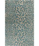 Go with my chaise in my bedroom  RugStudio presents Surya Athena ATH-5120 Teal Hand-Tufted, Best Quality Area Rug