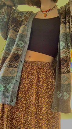 Shared by LAURA. Find images and videos about fashion, girls and alternative on We Heart It - the app to get lost in what you love. Vintage Outfits, Retro Outfits, Cool Outfits, Casual Outfits, Girly Outfits, Mode Hippie, Mode Boho, Indie Outfits, Fashion Outfits