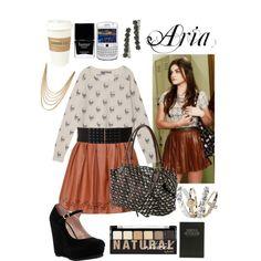 Fashion Inspiration; Aria Montgomery (Pretty Little Liars)