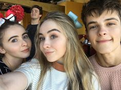 with sarah carpenter, peyton clark, and corey fogelmanis | sabrina carpenter // pinterest: joiespooks