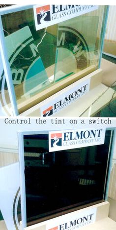 Science meets Architecture with Dynamic Glazing Projects ! Can Use Variable Tint & Liquid Crystal Switchable Glass Technology for Almost ANY application / Installation available -Innovative Glass Configurations of Electro-luminescent glass - Smart Technology and more!   see ElmontGlass.com