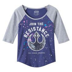 Girls 7-16 Star Wars: Episode VII The Force Awakens T-Shirt
