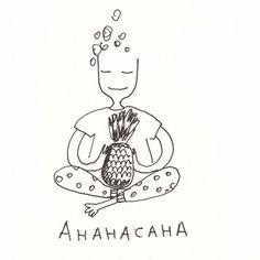 Ананасана