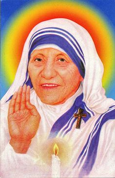 Mother Teresa by wackystuff, via Flickr