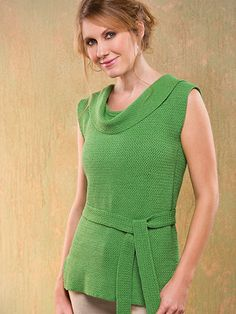 Easy-Does-It Tunic Size: Includes Woman's S through 3XL Made with super fine (sock) weight yarn and size D/3/3.25mm hook.