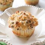 Coconut Lime Chocolate Chip Muffins