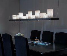 Stout - Candle Fusion - hanglamp    Prachtige hanglamp Candle Fusionvan de nieuwstecollectie van Stout.Een collectie waar sfeer en praktisch leeslicht elkaar ontmoeten. Het is een combinatie van k...