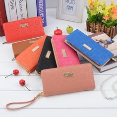 Woman's Lady M-K Zip Luxury Bifold Card Holder Clutch Bag Wallet Purse #hot #Woman's #Lady #Wallet