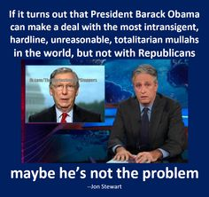 """Pres. Obama is not the problem. If you think he is, you're not paying attention ( or you're watching FAUX """"news"""" )."""
