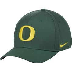wholesale dealer 30bbb 342e8 Oregon Ducks Nike Swoosh Performance Flex Hat - Green