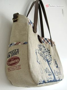 artchala handmade: Zakka Tote In Britishness Style