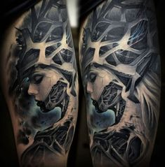 Biomechanical Tattoos by Stepan Negur