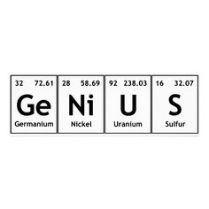 Genius chemistry periodic table words elements poster zazzle com brilliantly illustrated periodic table shows the role elements play in everyday life Chemistry Quotes, Chemistry Tattoo, Chemistry Posters, Chemistry Lessons, Science Memes, Science Chemistry, Science Experiments Kids, Chemistry Drawing, Chemistry Revision