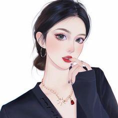Anime Angel Girl, Anime Girl Hot, Pretty Anime Girl, Beautiful Anime Girl, Beautiful Girl Drawing, Kawaii Anime Girl, Anime Art Girl, Digital Art Anime, Digital Art Girl
