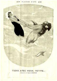1915 Fantasio Magazine page illustration