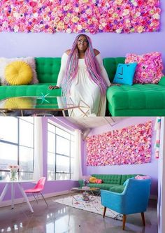 CULTURE N LIFESTYLE — Rainbow Colored Apartment Is Your Childhood Dream...
