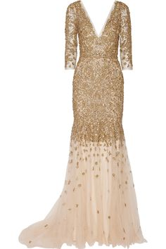 MARCHESA Embellished tulle gown £9,775.00 http://www.net-a-porter.com/products/573433