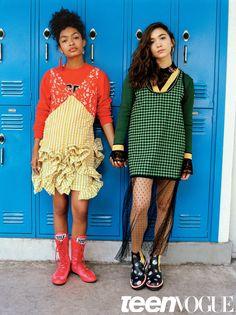 Yara Shahidi and Rowan Blanchard Are BFF Goals in Their Teen Vogue Cover