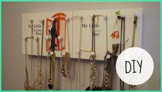 DIY Que faire avec vos boîtes My Little Box = Un porte bijoux Little Boxes, Diy Box, Arrow Necklace, Jewelry, Image, Necklace Holder, Puertas, Jewlery, Jewerly
