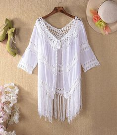 a01433a1b2 crochet womens summer tops,Crochet womens top with fringe, crochet fringe beach  top,