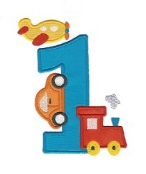 Transportation 1 Applique - 2 Sizes!   What's New   Machine Embroidery Designs   SWAKembroidery.com Applique for Kids