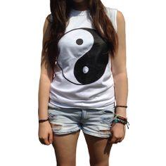 yin yang muscle tank $26