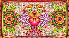 catalina estrada art   Colorful Weekend Wishes {Catalina Estrada}  