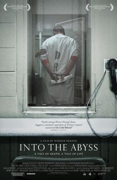 """Into the Abyss: A tale of death. A tale of life. A film by Werner Herzog. """"WATCH THIS PLEASE - werner herzog - documentary god - beyond the beyond -"""" Rosie O'Donnell The Abyss Film, Netflix Movies, Movies Online, Netflix List, Movies To Watch, Good Movies, Films Récents, Werner Herzog, Into The Abyss"""