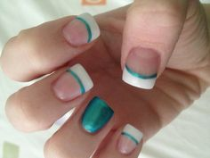 Hm, I think I want this when I finally go get my nails done, but without the accent nail, not really a fan of those.