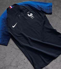 cca43660b 2018 World Cup France Home Shirt Two Stars Soccer Jersey Shirt(Player  Version)