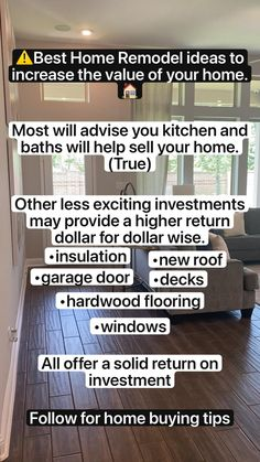 Home Building Tips, Building A House, Home Renovation, Home Remodeling, Buying First Home, Real Estate Training, Home Buying Process, Selling Your House, Real Estate Tips